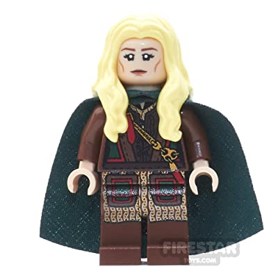 firestartoys.com Custom Design Minifigure - Lord of The Rings Eowyn: Toys & Games
