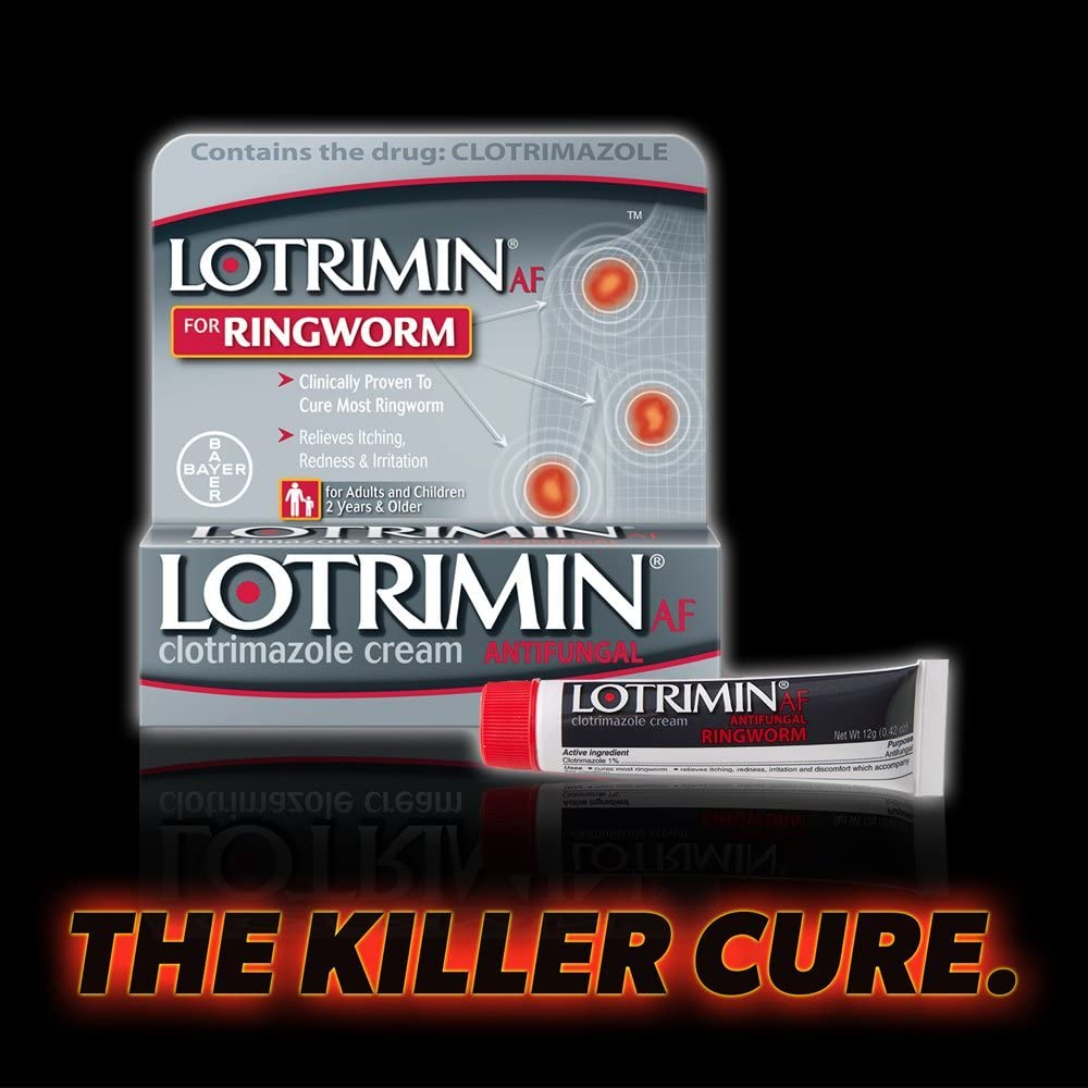 Lotrimin Antifungal Ringworm Cream, 0.42 Ounce (Pack of 1): Health & Personal Care