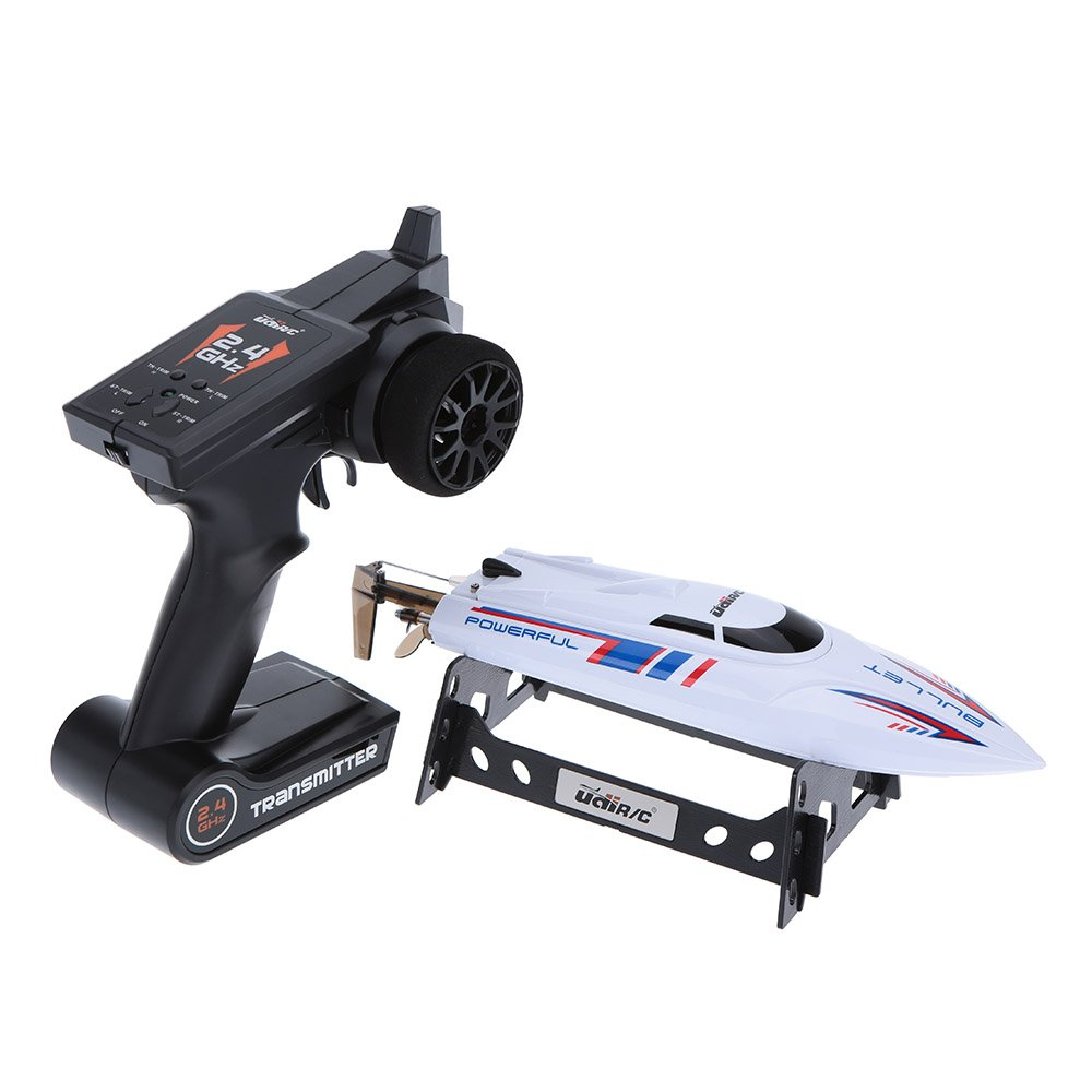UDI UDI003 2.4G Wireless RC 20KM/H Racing Boat Speedboat with Transmitter