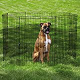 PetEdge Steel Easy Exercise Dog Pen, 18-Inch, X-Small, Black
