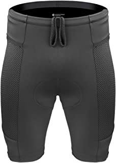 product image for Aero Tech Men's Gel Padded Touring Shorts w Innovative Mesh Pockets