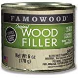 FamoWood 36141100 Original Wood Filler - 1/4 Pint, Alder