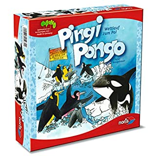Noris-Spiele GmbH & Co.KG Pingi Pongo Empfohlen Kinderspiel 2013 Board Game