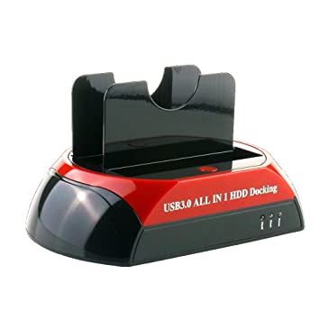 FUHAOXUAN CXD-875U3-ES USB 3.0 a SATA IDE Dual Bahía Externo ...