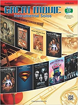 Great Movie Instrumental Solos: Clarinet (Book and CD)