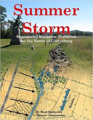 Summer Storm: Regimental Wargame Scenarios For The Battle Of Gettysburg Descargar PDF Gratis