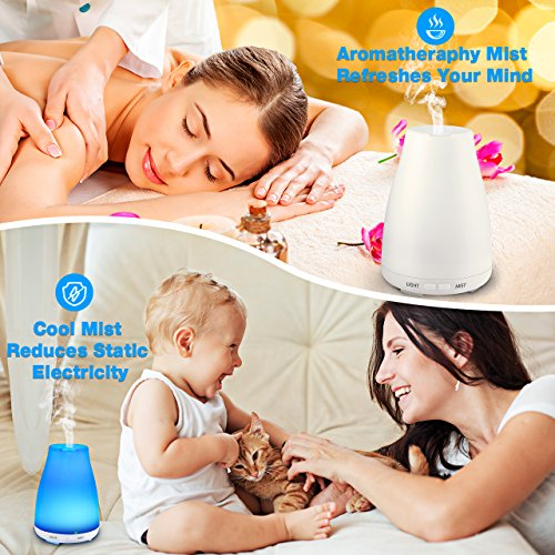 -[ VicTsing Ultrasonic Aroma Diffuser, Aromatherapy Essential Oil Diffusers, Cool Mist Humidifiers