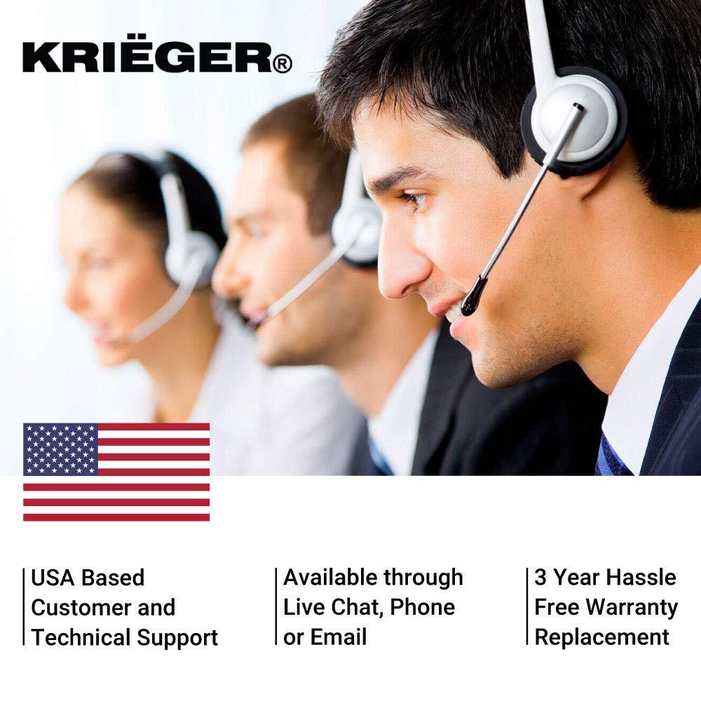Kriger 4000 Watt 12v Power Inverter Dual 110v Ac Prime Genset Pr7500cl 6000watt Outlets Automotive Car Best Appliance Back Up Supply For Refrigerators