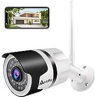 New Version Outdoor Security Camera, 1080P Camera Surveillance with IR Night Vision Waterproof Wireless Security Camera…