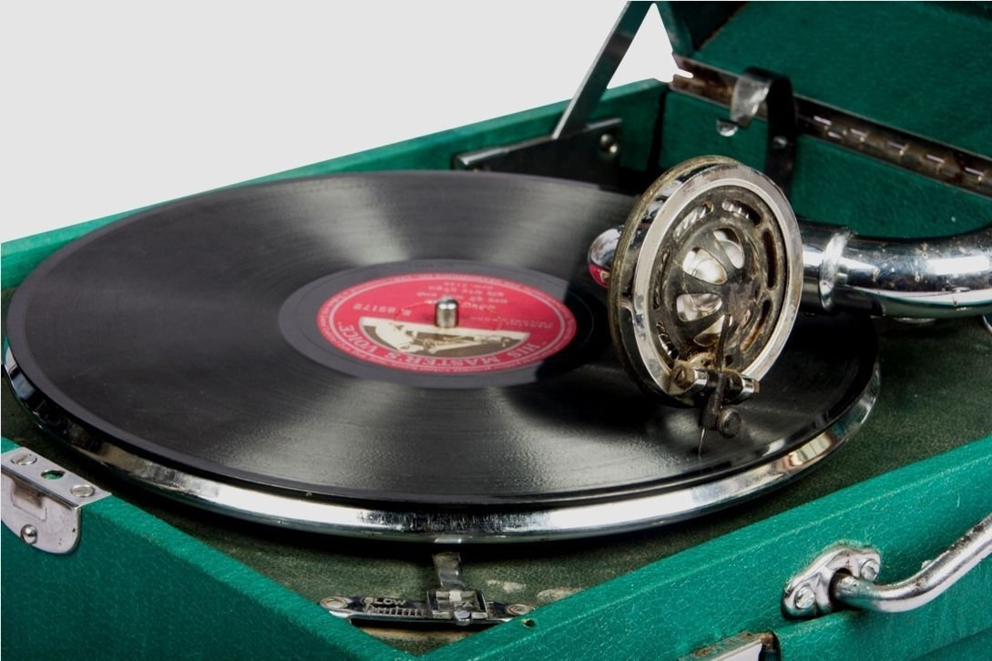 Global Art World la doble caja de música gramófono Tocadiscos ...