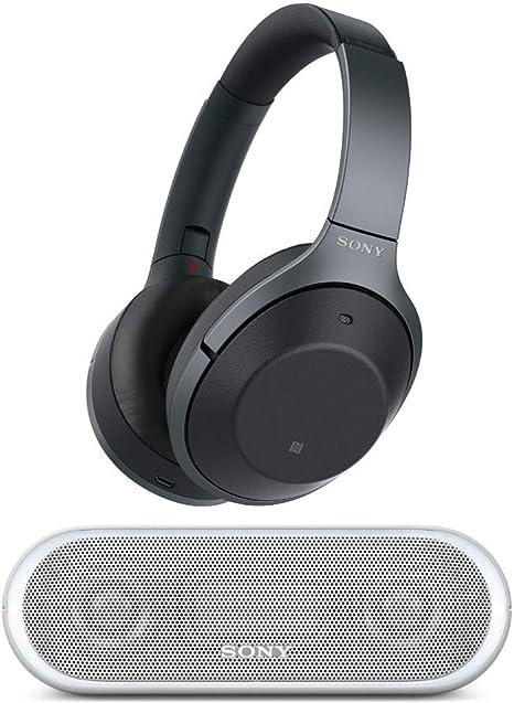 Sony cancelación de Ruido Auriculares wh1000 X M2: Over Ear Auriculares inalámbricos Bluetooth con Funda w/Sony SRS-xb2 portátil Altavoz inalámbrico con Bluetooth y NFC: Amazon.es: Electrónica
