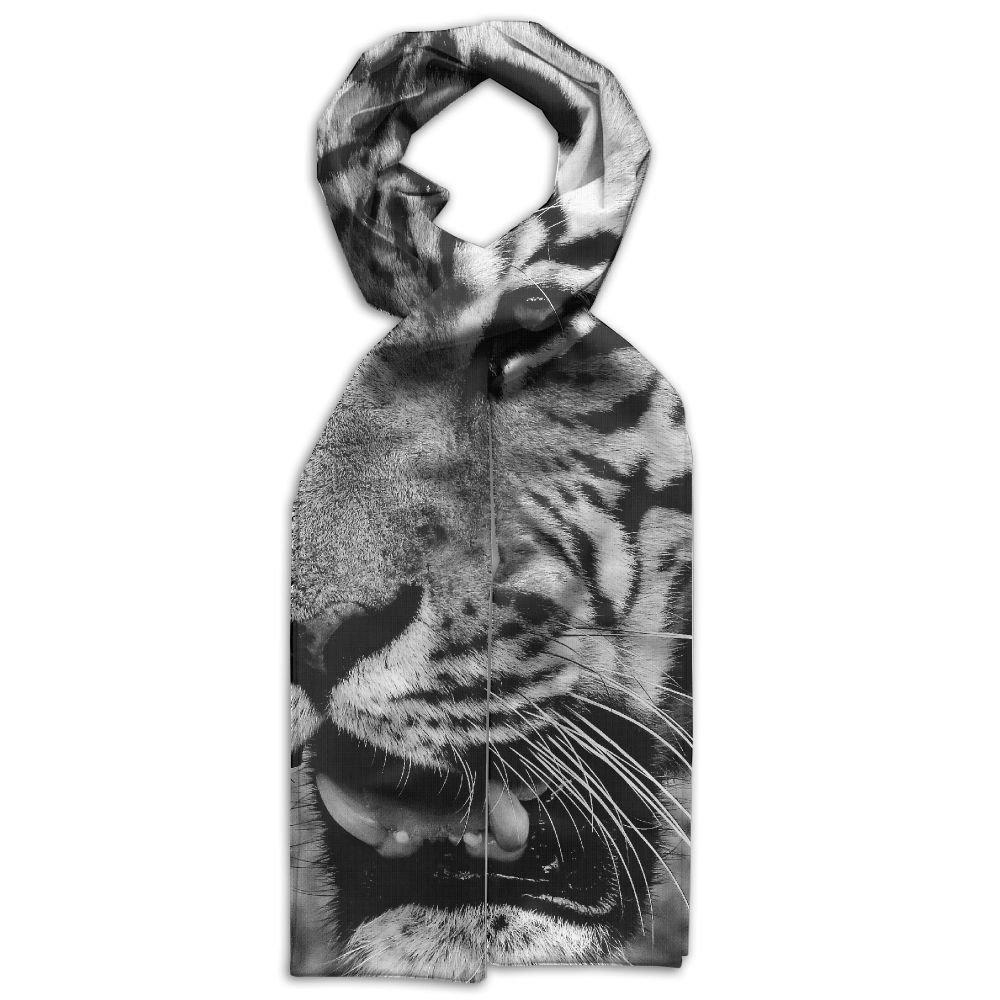 DGYEG44 Tiger Printing Scarf Kids Warm Soft Fashion Scarf Shawl For Autumn Winter