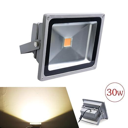 4X Auralum® 10W 20W 30W 50W Foco LED exterior Luz de Proyector ...