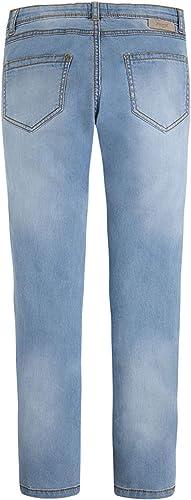 Mayoral Tween Girls 7-18 Bleached Blue Embellished-Pocket Denim Jeans//Pants