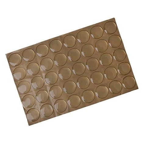 Amazon Monkeyjack Pack 40 Piece Mini Round Adhesive Silicone