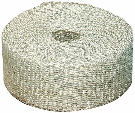 Heatshield Products 325005 Off White Inferno Wrap 2 Wide x 15 Header Insulating Heat Wrap