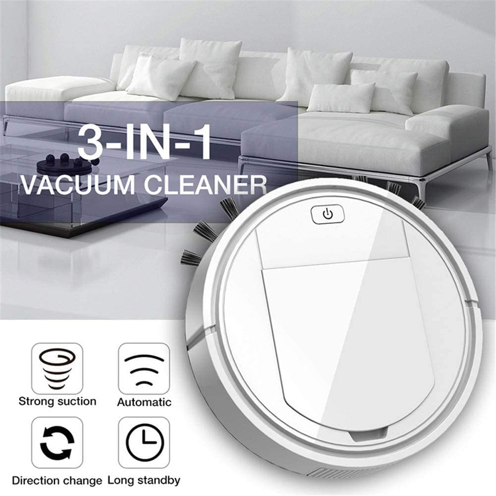 FQMAO Intelligent Sweeping Robot. Sweep-Suction Integrated Household Cleaner Vacuum Cleaner for Home Office