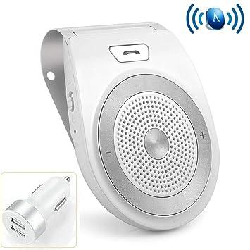 Aigital Manos Libres para Coche Kit Bluetooth Altavoz Inalámbrico ...
