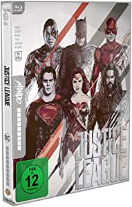 Justice League - Mondo Steelbook ( Blu Ray) [Blu-ray]