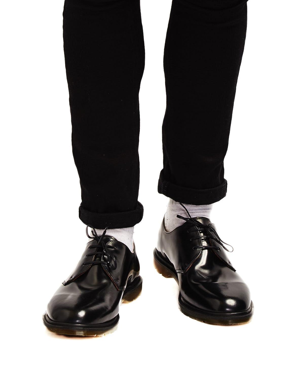 kiva halpa ostaa halpaa uk halpa myynti Dr. Martens - Mens Archie Mie 3 Eye Shoe, UK: 12 UK, Black ...