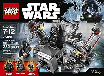 LEGO Star Wars Darth Vader Transformation 75183 Building Kit by LEGO