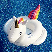 Inflatable Unicorn Floating Bed Pool Party Water Toys, Children and Adults Swimming Pool Inflatable Toys 200x100x90cm