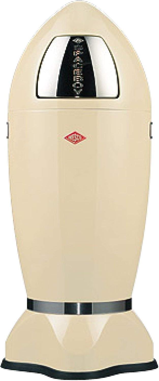 Wesco 35 Litri Beige 97cm Pattumiera a Forma di Razzo Spaceboy XL