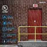 LEONLITE Wet Location Red Exterior LED Exit