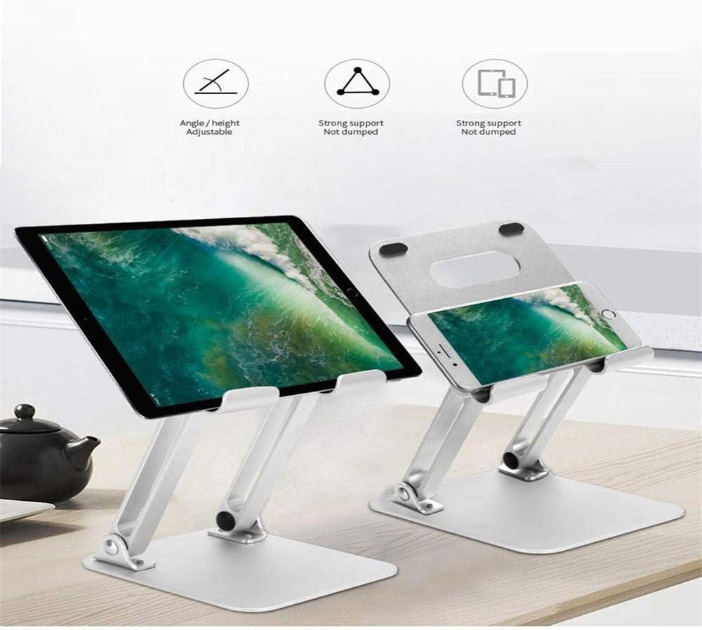 Suitable for A Variety of Models of Mobile Phones//Tablets Aluminum Bracket Foldable Desktop Lazy Bracket Bracket