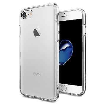 99330e5ec72 spigen Funda iPhone 7, [Ultra Hybrid] Tecnología de amortiguación de Aire y  protección híbrida contra caídas para iPhone 7 (2016): Amazon.es:  Electrónica