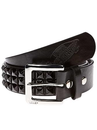 5f885b8e7f7a8 Vans Herren Gürtel Studded Leather Belt  Amazon.de  Bekleidung