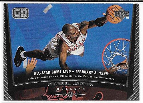 Michael Jordan 1998-99 Upper Deck Chicago Bulls Card #23