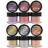 Best Acrylic Powders - Mia Secret -Metallic Nail Acrylic Powder set of Review