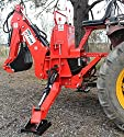 Farmer Helper 6' Dig Tractor Backhoe w/Tank,Pump,Filter, PTO Powered Cat.I 25Hp+ (FH-BH6)