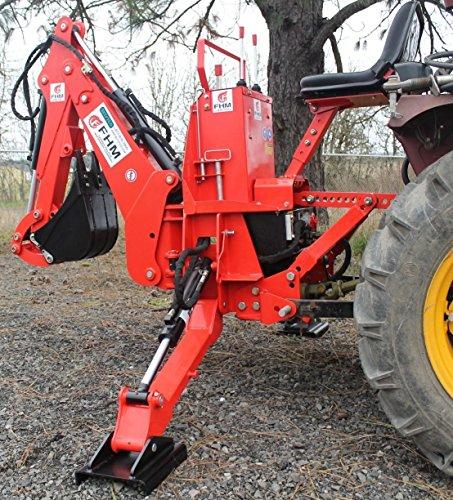 Farmer Helper 6' Dig Tractor Backhoe w/Tank,Pump,Filter, ...