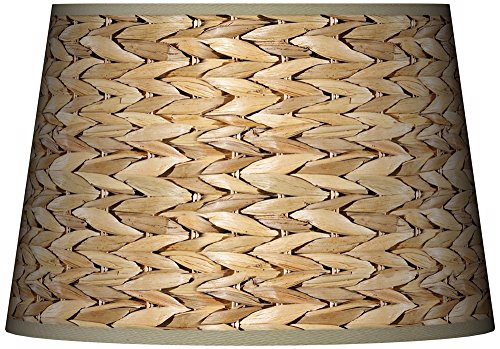 Seagrass Tapered Lamp Shade 13x16x10.5 (Spider) ()