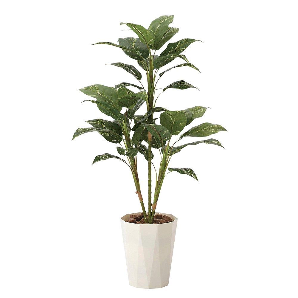 観葉植物 造花 「フィロ 90cm」 光触媒(空気清浄) インテリアグリーン 鉢植え B01KFN89FO