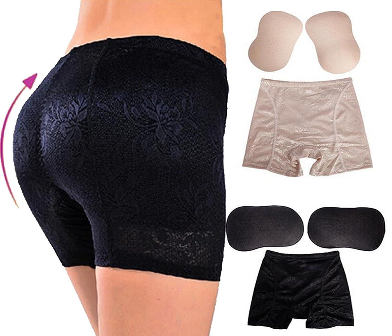 DODOING Womens Underwear Panties Foam Butt Lifter Padded Enhancer Shaper Panty