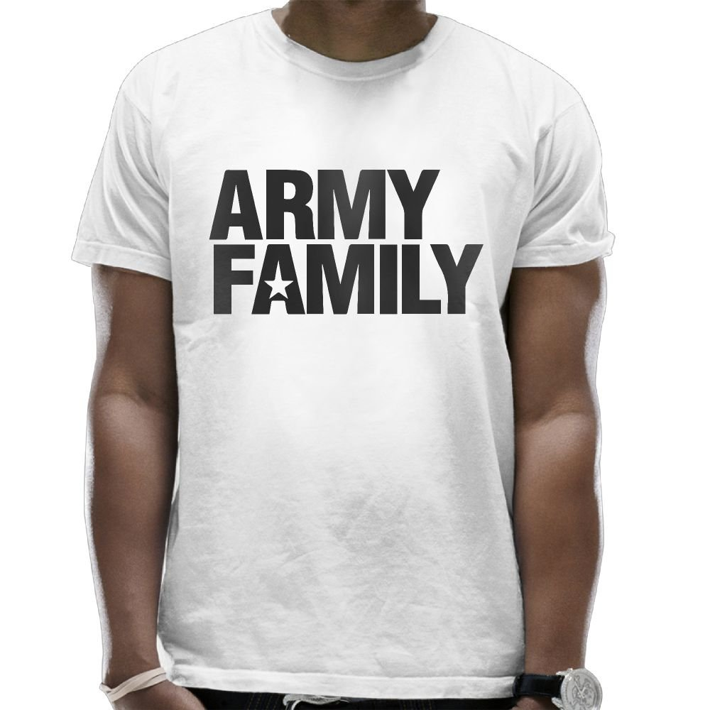 1d84023a Amazon.com: REBELN Army Family Logo T-Shirt Short Sleeve Tops Funny Summer  Top Blouse For Men: Clothing