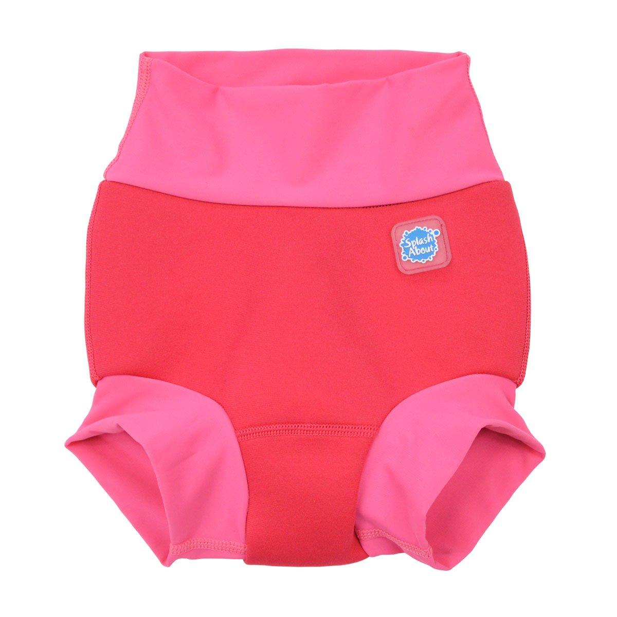Geranium Splash About Baby Kids New Improved Happy Nappy,Pink ,6-12 Months