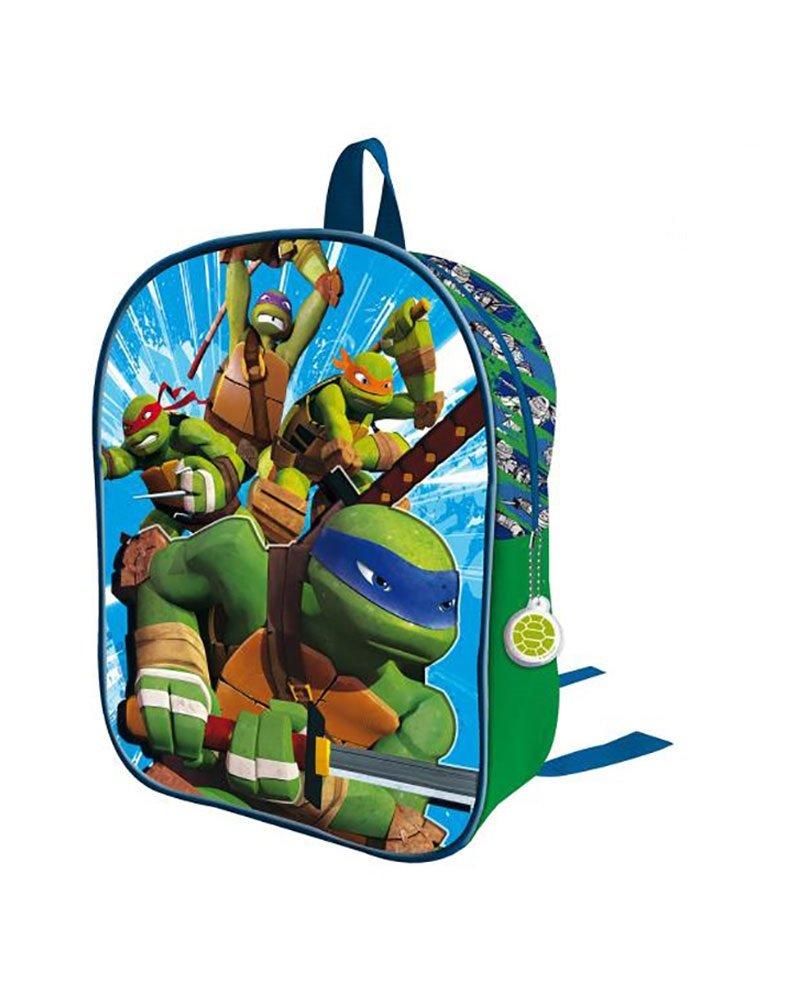 Tortugas Ninja 2018 Mochila Infantil 50 cm, Multicolor