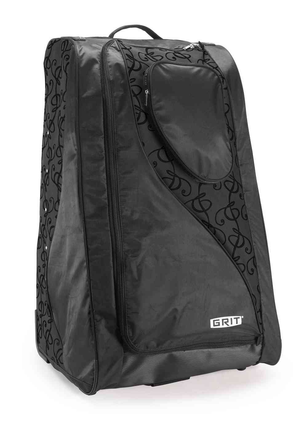 Grit Inc. DT1 Dance Tower 36'' Roller Equipment Bag, Black on Black DT1-036-BB by Grit