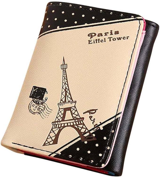Amazon.com: dacawin titulares de tarjetas de las niñas París ...
