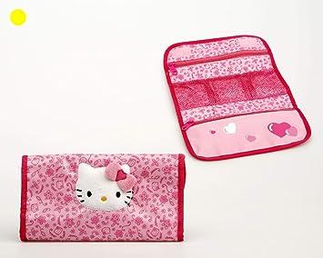 Hello Kitty estuche neceser infantil belleza flores. 1249826: Amazon.es: Juguetes y juegos