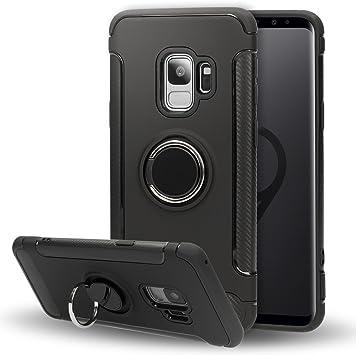 NALIA Funda con Anillo Compatible con Samsung Galaxy S9, Carcasa ...