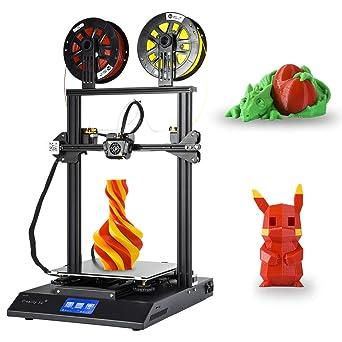 [Creality 3D Tienda directa] impresora 3D CR-X con doble extrusora Pantalla táctil de doble color Diseño completo de metal integrado y filamento PLA ...
