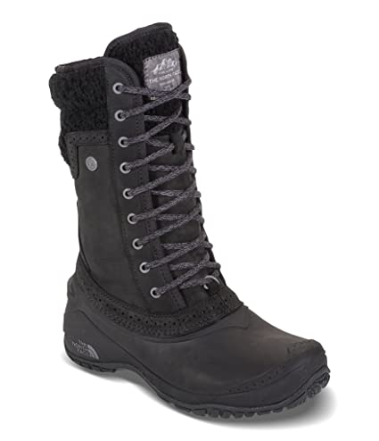 732257ce01a90 Image Unavailable. Image not available for. Color: The North Face Women's  Shellista II Mid Insulated Boot - TNF Black & Plum Kitten Grey