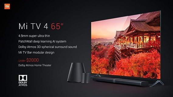 Original Xiaomi Mi TV 4 65 pulgadas Inchs Smart TV English ...