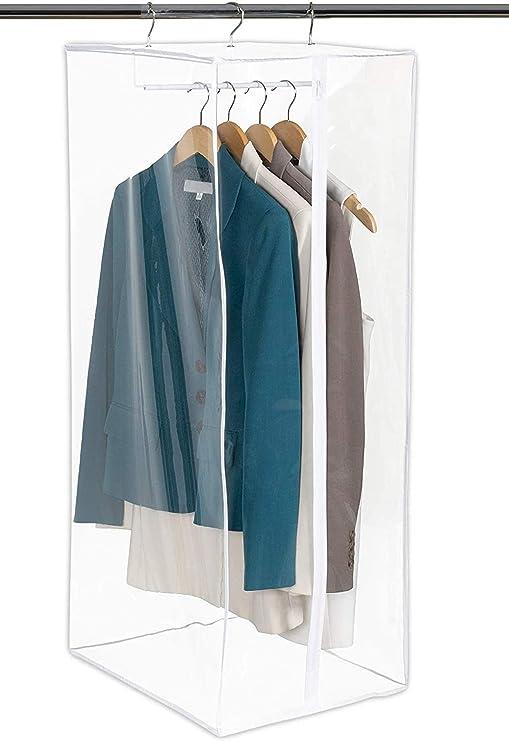 Hanging Dustproof Bag Wardrobe Garment Bag Dust-Proof Clothes Dust Cover Closet