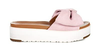 092c18d6cce UGG Women s Joan Women s Slides In Pink 100% Leather  Amazon.co.uk ...